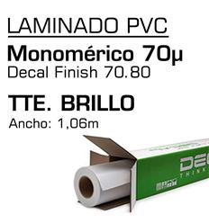 Laminado Monomerico Decal Brillo 70.80 1,06x50