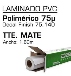 Laminado Poli Mate Decal 75.140 P 163x50