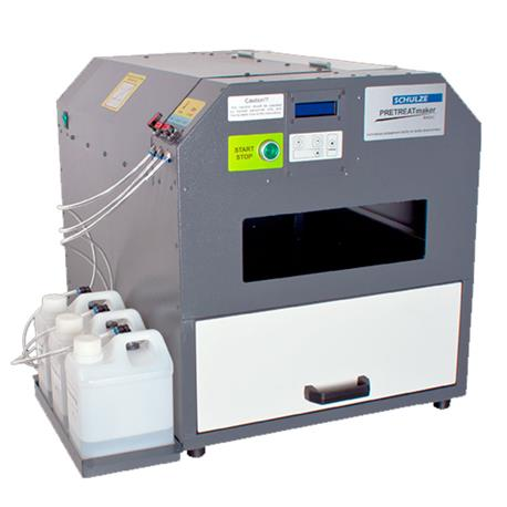 Maquina Precoating PRETREATmaker BASIC