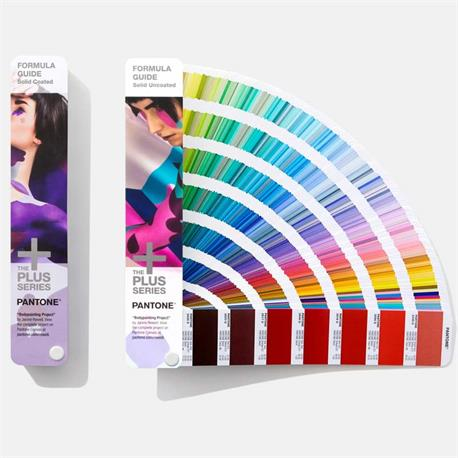 Pantone Plus fórmula guide coated&uncoated