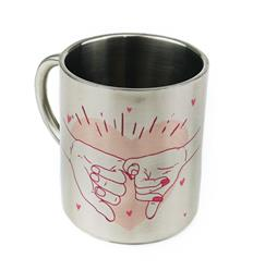 Taza de metal sublimable