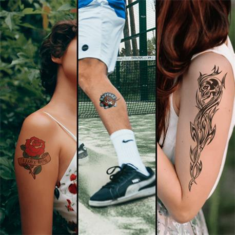 Forever Laser Tattoo A+B A4 -5 hojas-