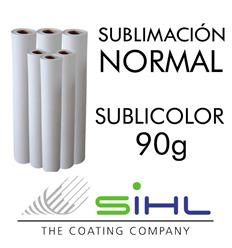 Papel Sublimación SubliColor Uni. 90g 1,62x150m