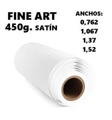 Canvas Fine Art 450g. Satín