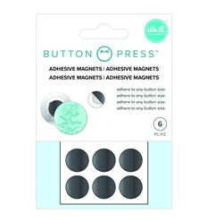 Button Press Imanes adhesivos