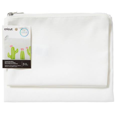 Cricut Lilen Cosmetic Bags 3-pack (Infusible Ink B