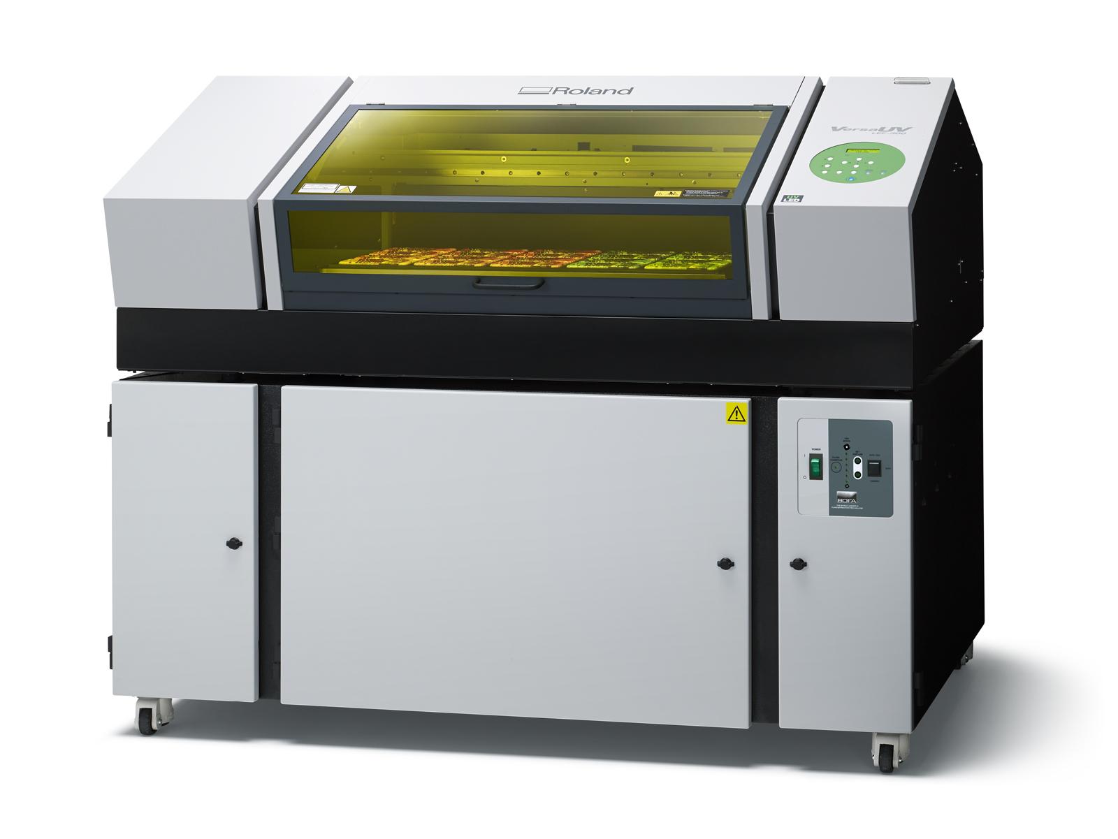 Roland LEF 300 con filtro
