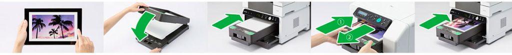 Cómo imprimir con la Ricoh Ri 100