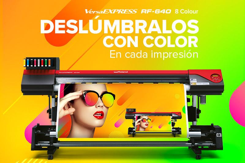 Roland RF-640 de 8 colores
